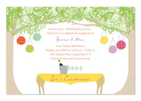 backyard soiree invitations by invitation