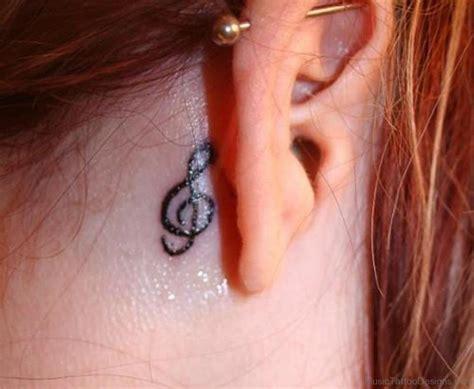 keyhole tattoo behind ear music tattoo designs page 5