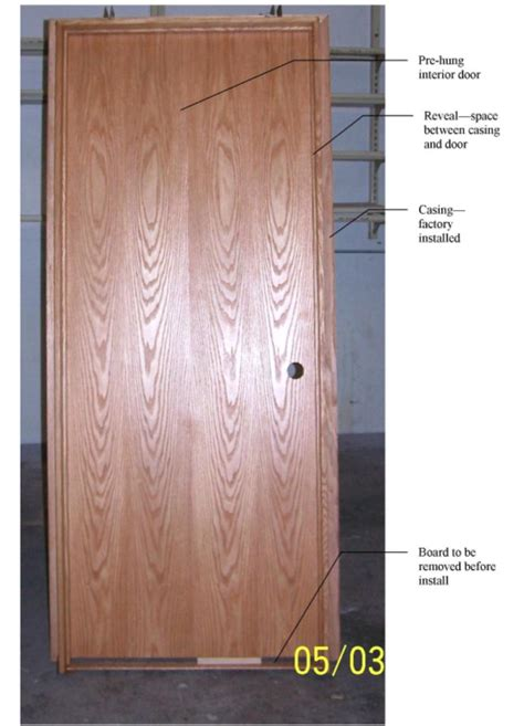 Pre Hung Interior Doors Install Prehung Interior Door