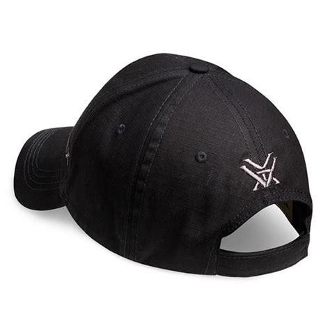vortex optics black ripstop cap