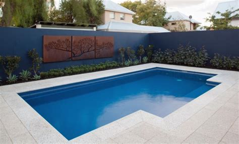 pool 8x4 leisure elegance fiberglass pool bluewater swimming pools