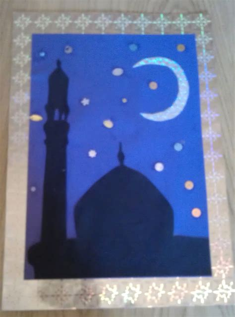 ramadan crafts for ramadhan silhouette frames silhouettes craft and
