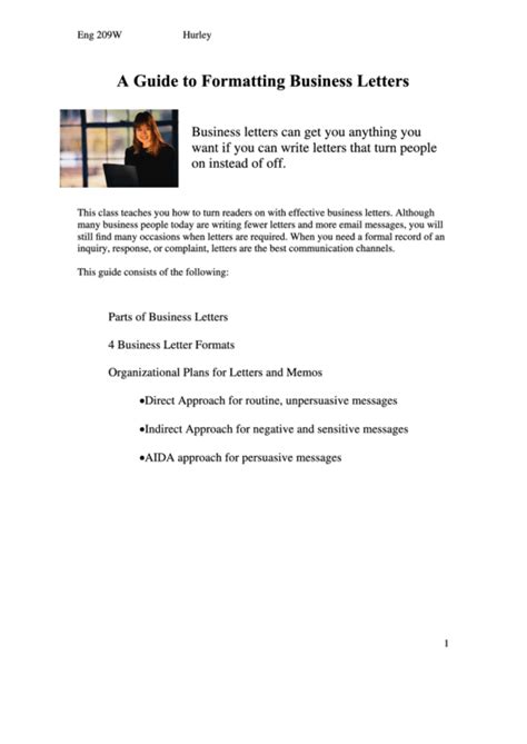 business letter writing guide pdf a guide to formatting business letters printable pdf