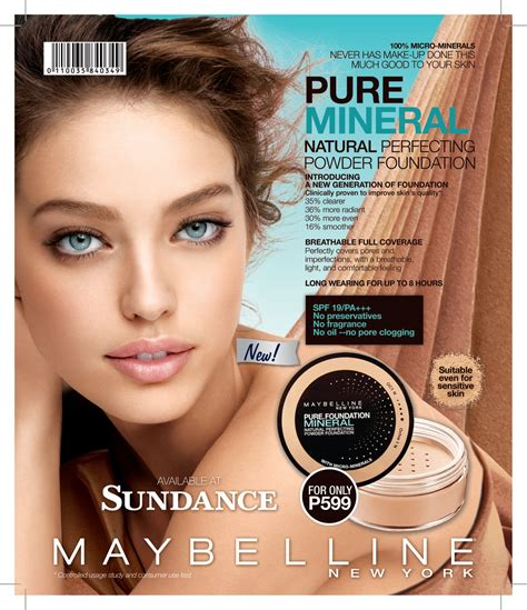 Maybelline New York sundance catalog maybelline new york