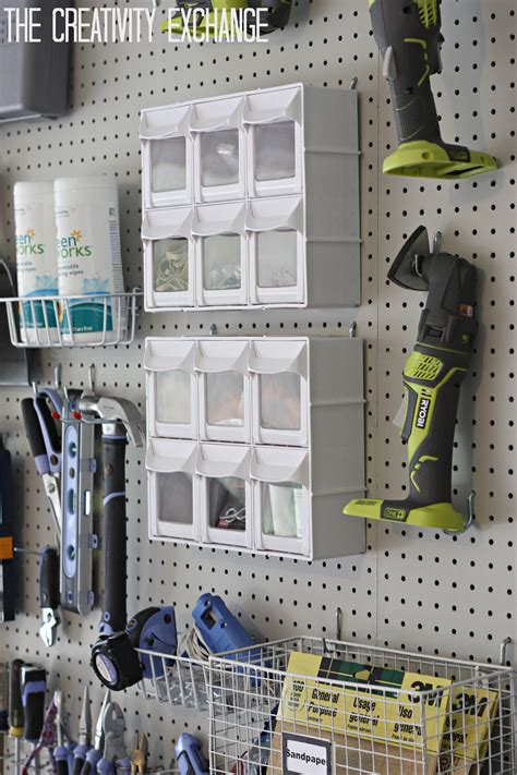 Lovely Garage Wall Pegboard #6: DIY-Garage-Pegboard-Storage-Wall-The-Creativity-Exchange1.jpg