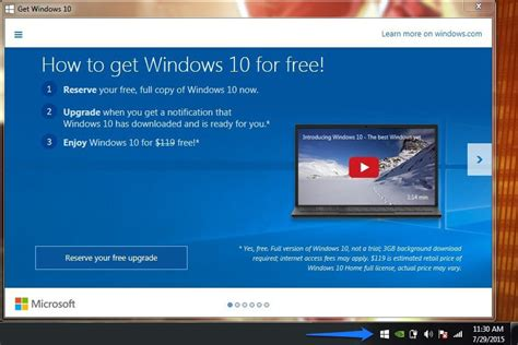 windows 10 reserve prompt now here s how to upgrade to windows 10 cnet
