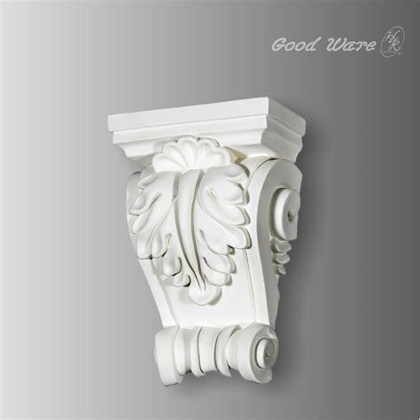 Wall Corbels Polyurethane Acanthus And Shell Wall Corbels Supplier
