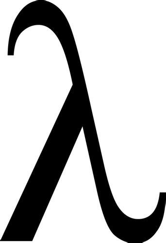 what is lambda in physics lambda symbol vektor illustration public domain vektoren