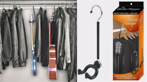 Guitar Closet Hanger by The Impressively Simple Guitar Hanger