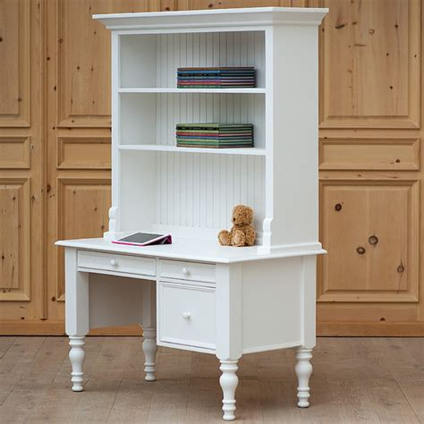 Desk With Small Hutch Small Library Desk With Hutch Modern Desks And Hutches By Rosenberry Rooms