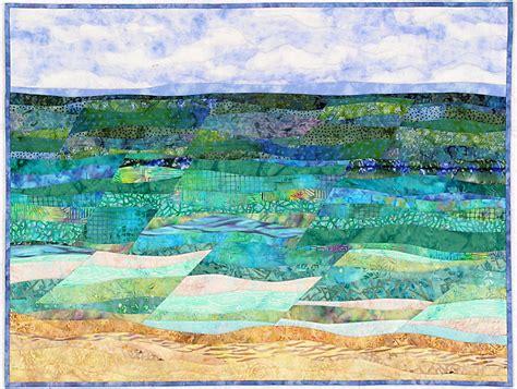 Landscape Quilt by Quilt Batiks Etcetera Sew What Fabrics