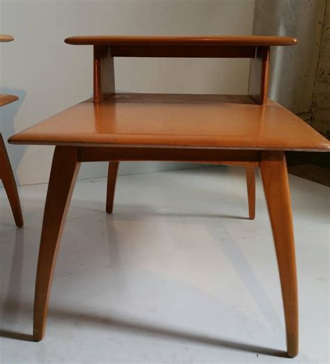 classic mid century modern heywood wakefield tiered stands