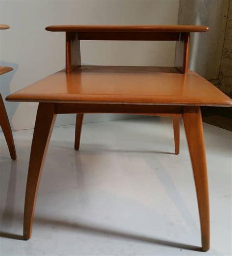 Classic Mid Century Modern Heywood Wakefield Tiered Stands Heywood Wakefield Mid Century Modern Furniture