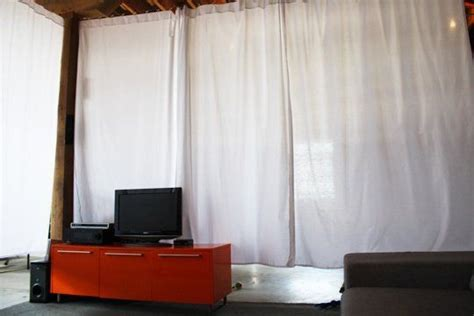 room divider curtain wall 8 best images about loft ideas privacy on pavilion nests and home hacks
