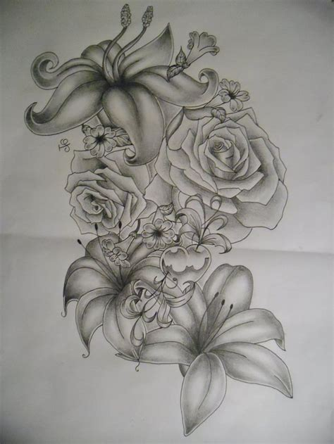 japanese tattoo flower seasons flowers tattoo design by tattoosuzette on deviantart
