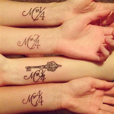 sister tattoos for 4 10 ideas to show your bond bored panda