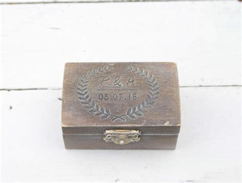 Ring Bearer Pillow Box by Ring Bearer Box Wedding Ring Box Personalised Wedding