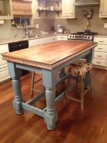 kitchen island farm table best 25 farmhouse kitchen island ideas on pinterest