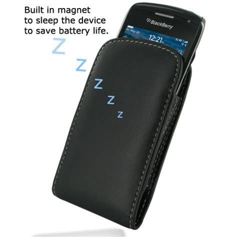 Leather Pocket Blackberry 9720 Samoa Original White pdair black leather vertical pouch cover for blackberry curve 9380 ebay