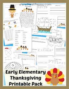 elementary thanksgiving printable pack meet penny
