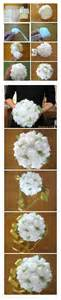 how to make floral arrangements step by step how to make baby tissue paper flower bouquet step by step