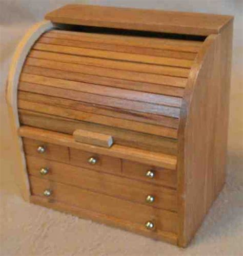 Small Rolltop Desk Doll Furniture Mini Roll Top Desk For Boys Americans Ebay