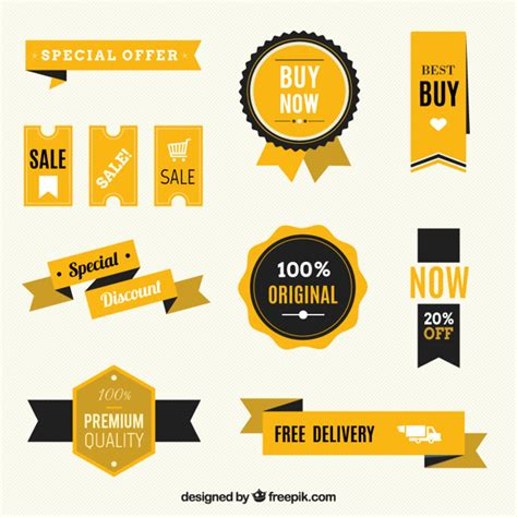 badges for sale sale badges vector free