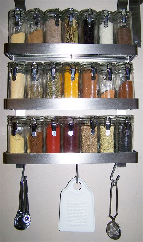 Hanging Spice Racks For Kitchen Kitchen Images Of Solid Wooden Hanging Wall