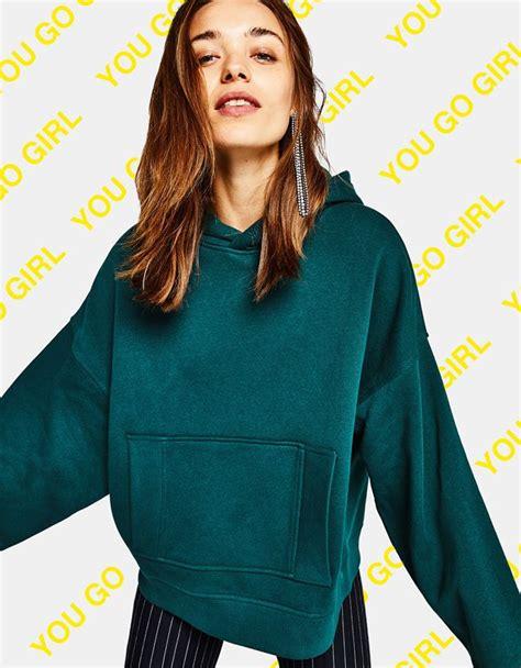 Sale Hoodie Jacket By Bershka lo 250 ltimo en moda de mujer oto 241 o invierno 2017 bershka