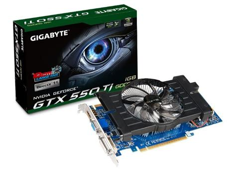 Vga Card Nvidia Geforce Gtx 550 Ti Gigabyte Geforce Gtx 550 Ti Card Gv N550d5 1gi