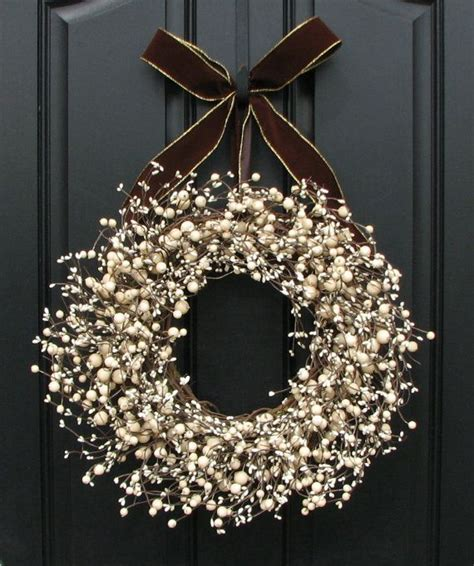 Grapevine Floral Design Home Decor The by 25 Diy Ideas To Have A Winter Wreath Pretty Designs
