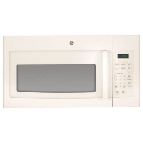 Microwave Oven G 8 ge 1 6 cu ft the range microwave in bisque
