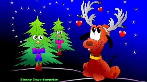 santacruz with christmas tree animated o tree carol children song animation nursery rhimes santa claus