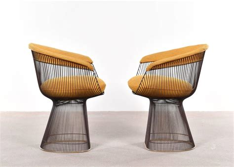Warren Platner Dining Chairs For Knoll At 1stdibs Platner Dining Chair