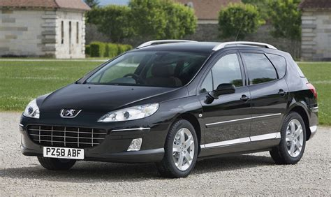 peugeot estate peugeot 407 sw estate review 2004 2011 parkers