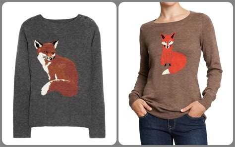 Fox Sweater the twenty ninth clothes for cheap madewell critter sweaters