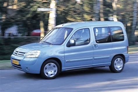 Citroen Berlingo Peugeot Partner 1996 2005 Workshop