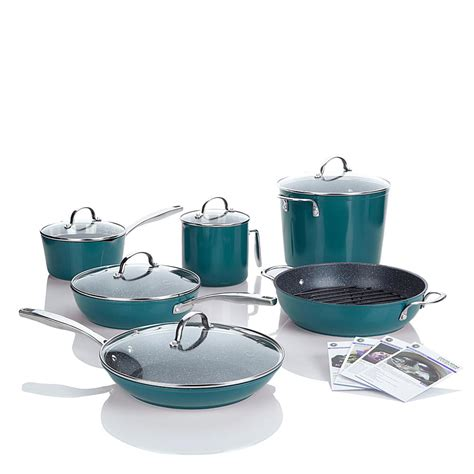 Teflon Chefway curtis durapan nonstick 12 chef s cookware set shop your way shopping