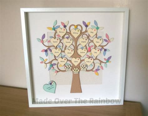 Handmade Family Tree Ideas - 1000 ideas about family trees on genealogy