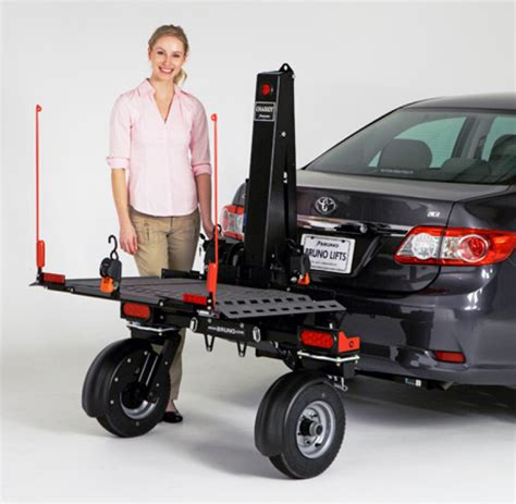 power chair carriers for cars bruno chariot platform lift with wheels model asl 700