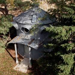Kid Friendly House Plans - convert a used grain bin to a new house