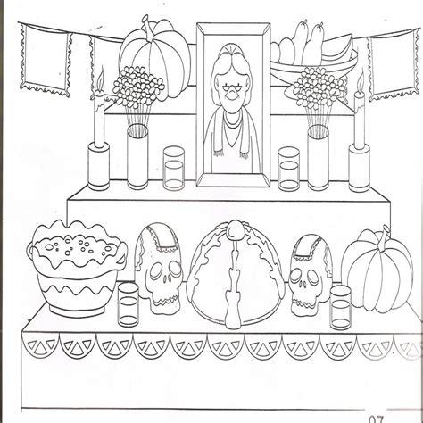 imagenes infantiles para colorear del dia de muertos calaveras para colorear dibujosparacolorear