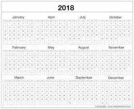 Calendar Template Xls by Printable 2018 Calendar Excel Template Free Ms Word Document