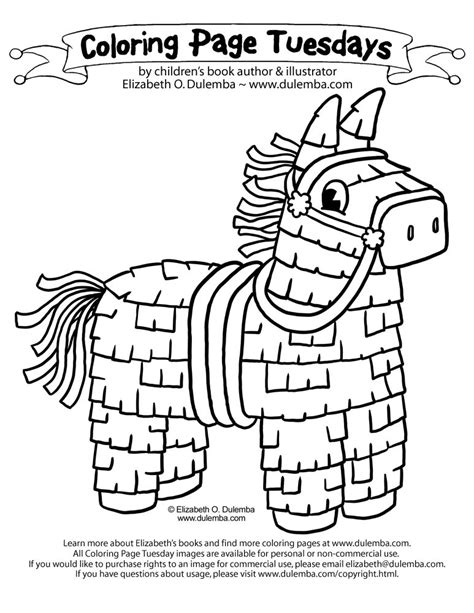 Coloring Page Tuesdays by Dulemba Coloring Page Tuesday Cinco De Mayo Pi 241 Ata