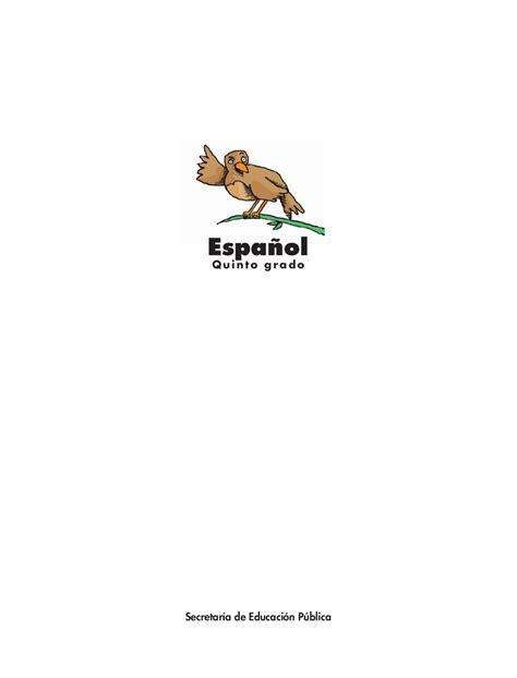libro de espanol 5 2017 issuu libro de espanol 5 2017 issuu espa 241 ol quinto grado