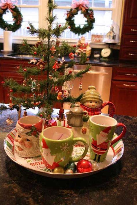 fun ideas bringing  christmas spirit   kitchen