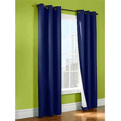 sport curtains sandy 63 inch insulated room darkening window curtain