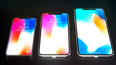 apple usara pantallas oled  sus tres nuevos iphone