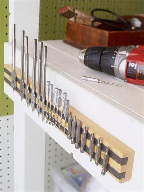 Tool Storage In Garage by 13 Clever Garage Storage Ideas