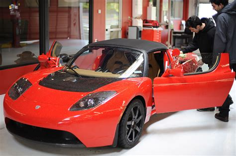 lease a tesla roadster for 1 658 per month